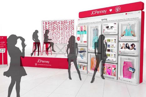 JCPenney turns to large-scale Pinterest boards to revive mall foot traffic | Transmedia Storytelling meets Tourism | Scoop.it