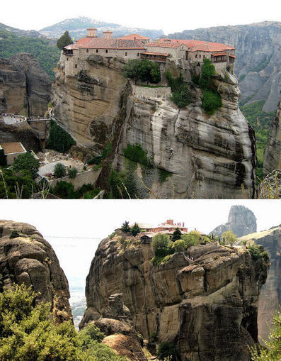 Monastic Marvels: 12 Cliffside & Mountaintop Monasteries | WebUrbanist | Public Relations & Social Media Insight | Scoop.it
