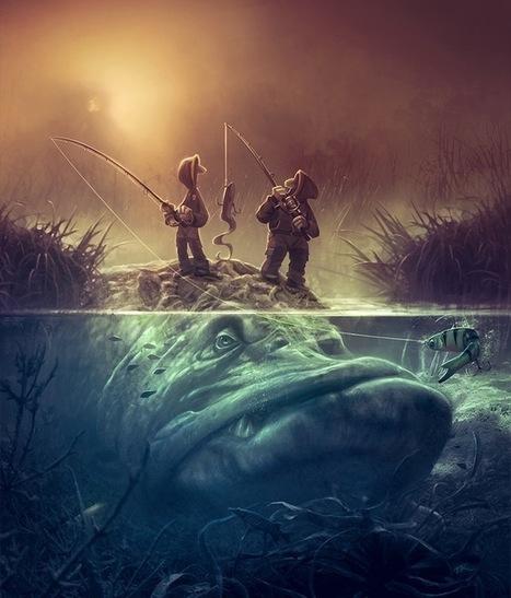 Sin título (Fish Art) | Arte | Scoop.it
