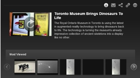 Toronto Museum Brings Dinosaurs To Life: Scientific American Video | Technology and Education Resources | Scoop.it