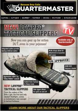 Ultimate Tactical Doorkicking Slippers « Tactical Fanboy | www.fitflopfrousandalsuk.co.uk | Scoop.it