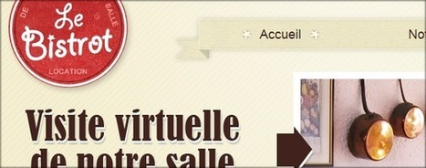 Site Web du Bistrot | Agence web O2 Graphics | Scoop.it