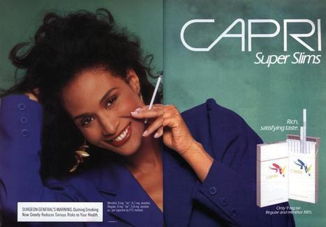 Capri Super Slims - Vintage Cigarettes Posters | I love cigarettes | Scoop.it