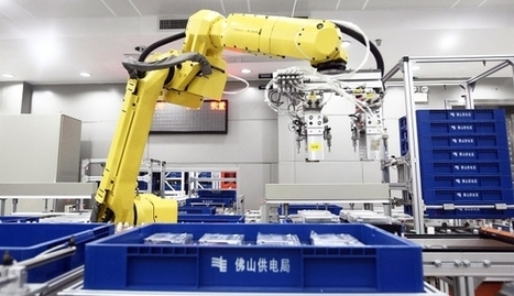 US$154 billion rise of the robots planned for Pearl River Delta manufacturing in China   La performance industrielle.   Scoop.it