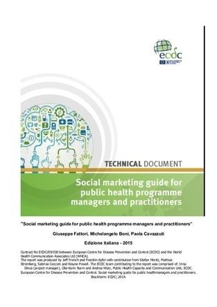 Marketing sociale e Comunicazione per la salute - Aprile 2015 -Newsletter 131 - #Socialmarketing | Co-creation in health | Scoop.it