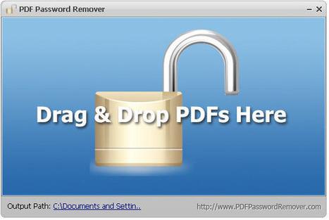 Quitar la contraseña de un PDF al instante: PDF Password Remover.- | Searching & sharing | Scoop.it