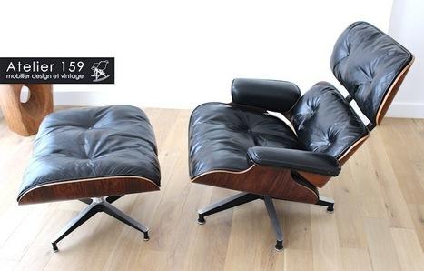 Les secrets de la Lounge Chair de Charles et Ray Eames - Atelier 159 | Digital Marketing ... | Scoop.it
