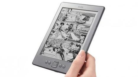 How to read comics on your Kindle | BassLine | Scoop.it