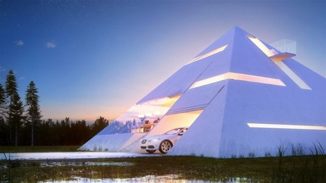 This Extraordinary Pyramid House Could Open New Chapter In Private Homes Design | Post-Sapiens, les êtres technologiques | Scoop.it