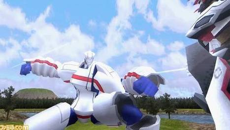 PSP: Battle Robot Damashii. Un Videogame per i Robot Damashii | FantaScientifico ! | Scoop.it