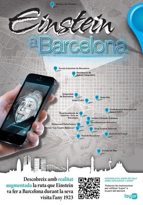 Realidad Aumentada en Barcelona – La Ruta de Einstein | Realidad ... | Randomgrid | Scoop.it