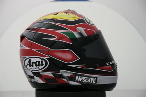 17 UNIQUE ARAI HELMETS STOLEN | Arai Helmet Europe Facebook | Ductalk Ducati News | Scoop.it
