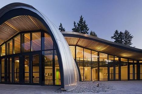 The new VanDusen Botanical Garden Visitor Centre by Perkins+Will | sustainable architecture | Scoop.it
