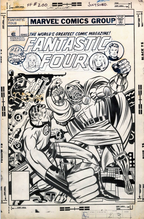 "BENDIS! - the cover to Fantastic Four #200 by Jack Kirby and... | Jack ""King"" Kirby 