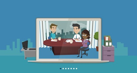 Make Business Video | Animated Video Production | GoAnimate.com | facebook | Scoop.it