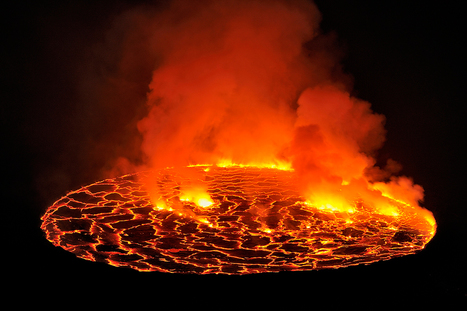 Nyiragongo Crater: Journey to the Center of the World [photos] | arts visuels | Scoop.it