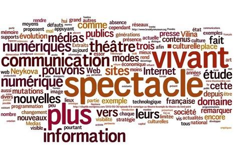 À lire : mémoire autour des medias numériques et du spectacle vivant - Stratégies digitales | De la culture au numérique | Scoop.it