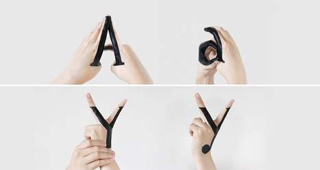 Designer Morphs Uppercase Letters To Lowercase In This Fascinating Handmade Typography Experiment | DigitalSynopsis.com | Scoop.it