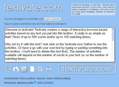 Activate - Motivate - TEXTIVATE! | Credenda 101 | Scoop.it