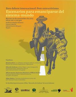 Foro debate internacional: Post-extractivismo. | Agua | Scoop.it