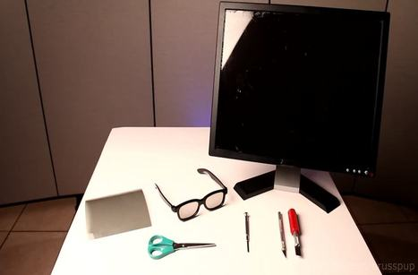 How To Build A Secret Monitor That Only You Can See :) | My World | Scoop.it