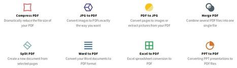 8 outils de traitement pour vos PDF en 1 service en ligne | TICE, Web 2.0, logiciels libres | Scoop.it