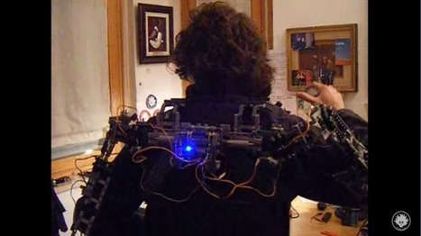 [WATCH] Man makes an exoskeleton out of Lego and an Arduino | Raspberry Pi | Scoop.it