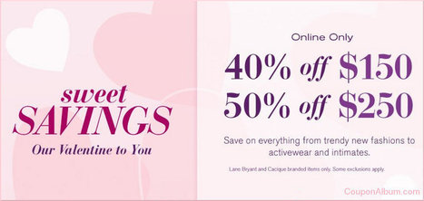 Lane Bryant Valentine's Day Special! | Coupons & Deals | Scoop.it