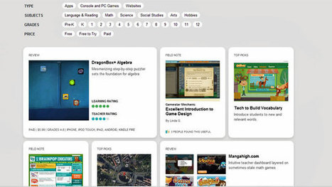 Confused About Ed Tech Tools? New Rating Site for Apps and Games | #LearningCommons | Scoop.it
