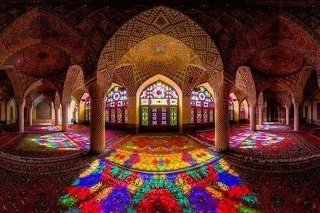 L'Iran a une incroyable mosquée... - Mon Coin Design | Design insolite | Scoop.it
