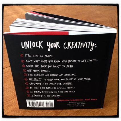 Steal Like An Artist by Austin Kleon | Re:[Mix] * [M]ash*up | Scoop.it