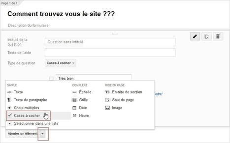 Comment créer un formulaire avec Google Drive ? | outils numériques pour la pédagogie | Scoop.it