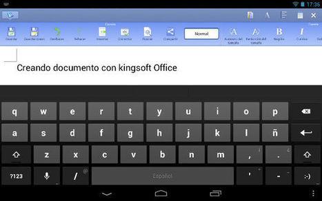 Cuatro aplicaciones para manejar documentos ofimáticos desde los móviles y tablets | Applicazioni Android e non, Infographics, Byod | Scoop.it