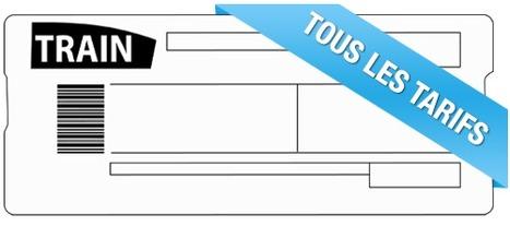 Tarifs SNCF : tout savoir sur le tarif des TGV | Les trouvailles de Maousse.fr | Scoop.it