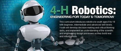 4-H Robotics Curriculum | Computer Science in Middle and High Schools | Scoop.it