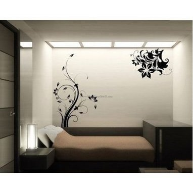Vintage Floral Vines Wall Decals – WallDecalMall.com | Flower Wall Decals | Scoop.it