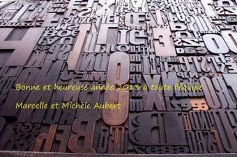 Les voeux des deux Aubert pour l'an 2013 | CGMA Généalogie | Scoop.it