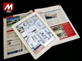 [innovation] Quand le BTP se frotte à la «réalité augmentée» (+vidéo) | Immobilier | Scoop.it