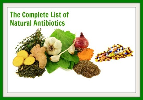 The Complete List of Natural Antibiotics (Science-Backed) - Natural Alternative Therapies | Medicina integrativa | Scoop.it