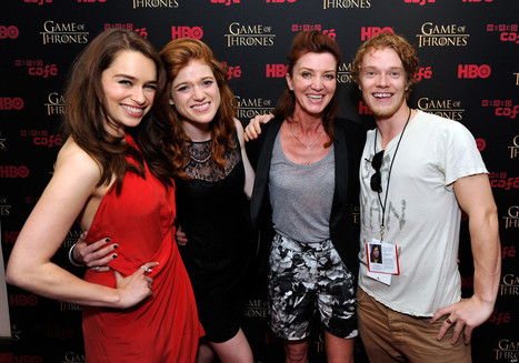 À quoi ressemblent les acteurs de Game of Thrones dans la vraie vie   Cinéma, télévision, médias, musique   Scoop.it