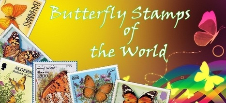 Butterfly Stamps of the World | Philatelie - Stamps Collection - Briefmarken Sammlung | Scoop.it