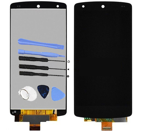 USPS Black LCD Digitizer Assembly For LG Google Nexus 5 D820 D821+ 8 Tools Kit | newest phone accessories | Scoop.it
