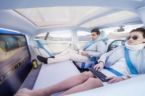 Futuristic Self Driving Car Design By Rinspeed - SERIOUS WONDER | Futurewaves | Scoop.it