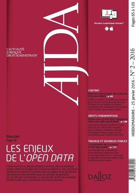 Dalloz Revues   Veille Open Data France   Scoop.it