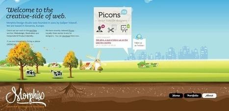 30 impactantes páginas web con diseños panorámicos - CSSBlog ES | Diseño y Creatividad | Scoop.it