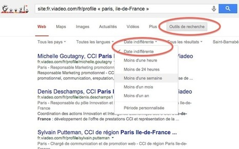 Comment identifier des profils Linkedin et Viadeo via Google ? I Laurent Brouat  #rmsnews | Entretiens Professionnels | Scoop.it