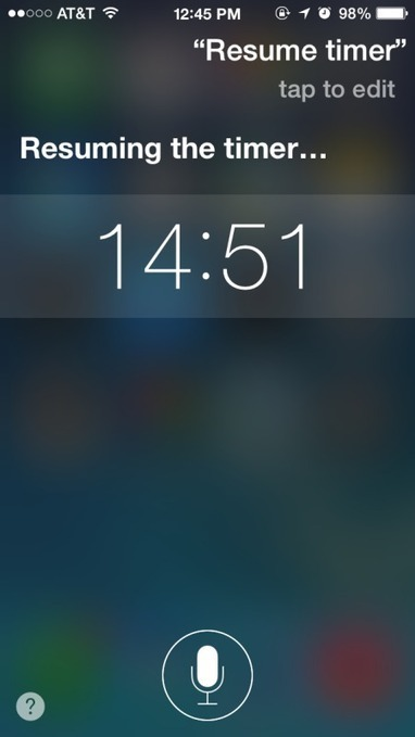How to Start & Use a Timer with Siri on iPhone & iPad for Easy Countdowns - OSXDaily | 21st Century Libraries | Scoop.it