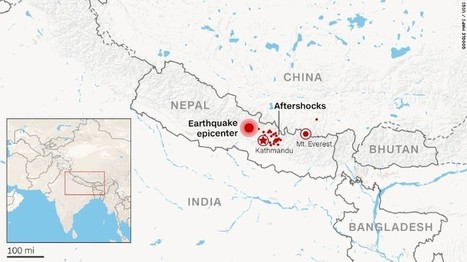 CNN | Earthquake in Nepal leaves hundreds dead | Daily World News | Scoop.it