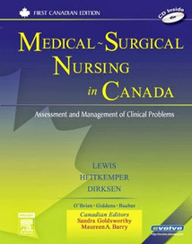 testbankdoctor@gmail.com: Test Bank Medical Surgical Nursing in Canada Assessment and Management of Clinical Problems 1st Edition Lewis - Dirksen - Heitkemper - Bucher - Camera ISBN-10: 0779699696 ... | Test Banks | Scoop.it