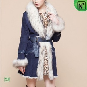 Women Sheepskin Fur Coat CW601050 | Fur Trimmed Coats | Scoop.it